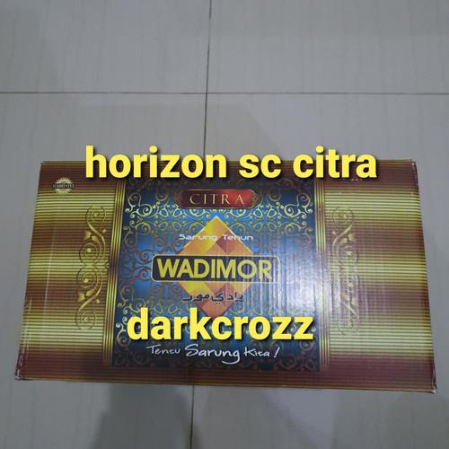 Foto Produk Sarung Wadimor - motif Horison dari darkcrozz