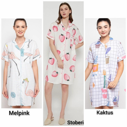 Foto Produk baju tidur wanita/piyama murah/piyama wanita dari Distro Polosan