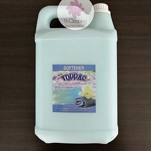 Foto Produk Softener Pewangi Pelembut Pakaian Merek TOPPAS 5 Liter dari HiCleaning