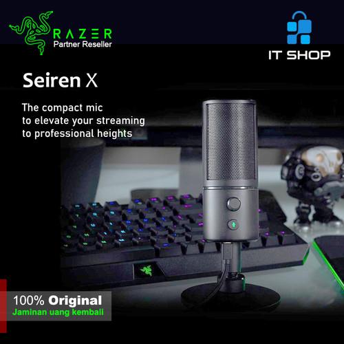 Foto Produk Razer Microphone Seiren X dari IT-SHOP-ONLINE