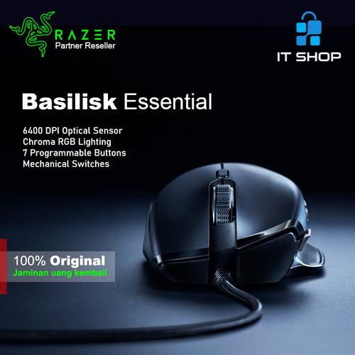 Foto Produk Razer Gaming Mouse Basilisk Essential dari IT-SHOP-ONLINE