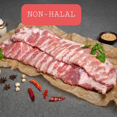Foto Produk Daging Babi Tulang Iga Murni Spare Ribs dari YYPORK