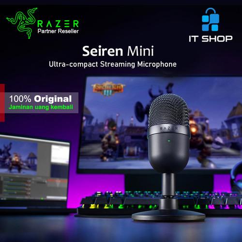 Foto Produk Razer Microphone Seiren Mini - Black dari IT-SHOP-ONLINE
