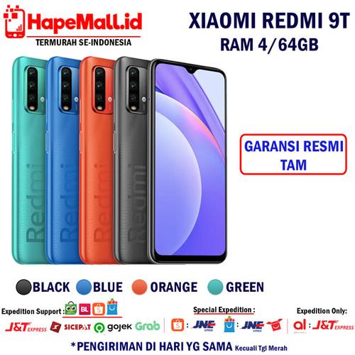 Foto Produk XIAOMI REDMI 9T RAM 4/64GB GARANSI RESMI TAM TERMURAH - Biru dari Hapemall.id