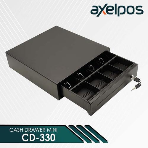 Foto Produk Laci Kasir Mini / Cash Drawer Mini Laci Kasir POS Axelpos CD 330 dari axelpos