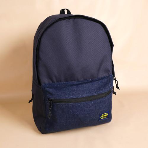 Foto Produk Lomberg Urban Denim Navy Backpack - Tas Ransel Denim - Biru Tua dari Lomberg Bags