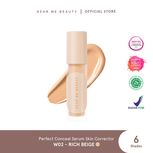 Foto Produk Dear Me Beauty Perfect Conceal Serum Skin Corrector - Rich Beige dari Dear Me Beauty
