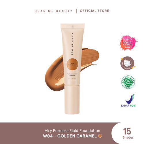 Foto Produk Airy Poreless Fluid Foundation - Golden Caramel dari Dear Me Beauty