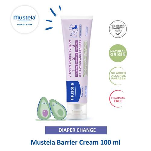 Foto Produk Mustela Barrier Cream 100 ml dari Mustela Indonesia