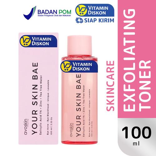 Foto Produk Avoskin TONER SALICYLIC ACID 1% + ZINC + TEA TREE WATER 100 ML dari Vitamindiskon