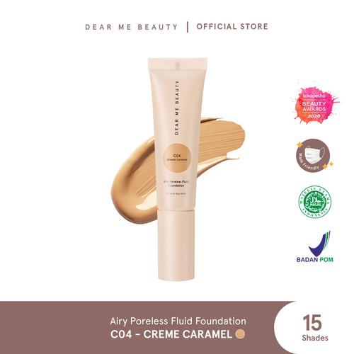 Foto Produk Airy Poreless Fluid Foundation - Creme Caramel dari Dear Me Beauty