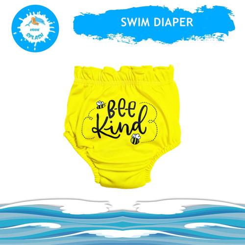 Foto Produk Popok Renang | Swim Diapers | Diaper Renang KIDDIE SPLASH Washable - Yellow Bee, L 10-15 kg. dari KIDDIE SPLASH INDONESIA