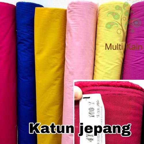 Foto Produk bahan kain katun jepang quality TOKAI meteran dan grosir harga pabrik - 11 hitam dari multi kain