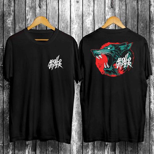 Foto Produk Kaos Pria Distro Apollo Viper OP115 Fashion Pria Baju Pria - Hitam, L dari MYPCollection