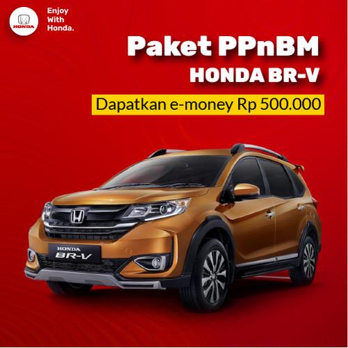 Foto Produk New Honda BR-V 2021 - Paket Relaksasi PPnBM 100% dari Honda Bintang Madiun