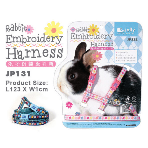 Foto Produk Jolly JP131 Rabbit Embroidery Harness dari Bakpao Rabbit