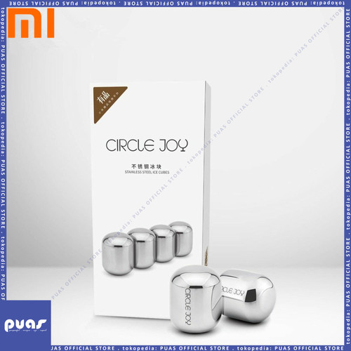 Foto Produk Original Xiaomi Circle Joy Ice Cubes 304 Stainless Steel Washable dari puas official store