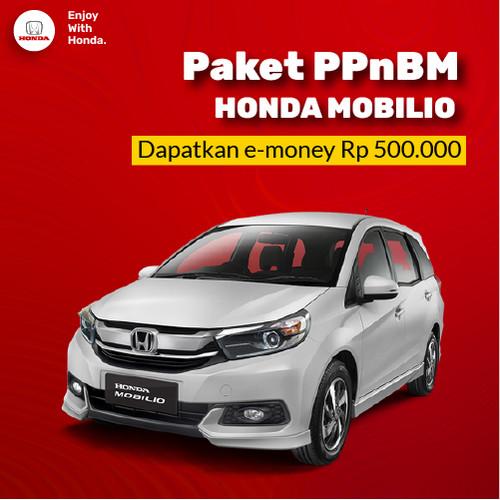 Foto Produk New Honda MOBILIO 2021 - Paket Relaksasi PPnBM 100% dari Honda Bintang Madiun