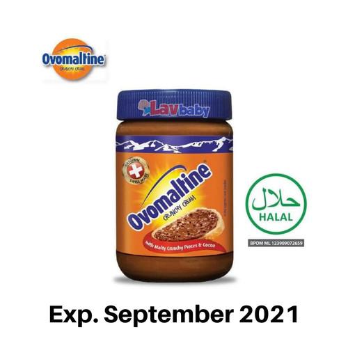 Foto Produk Ovomaltine Crunchy Cream ovomaltine 680gr - Packing Std dari LAV Baby