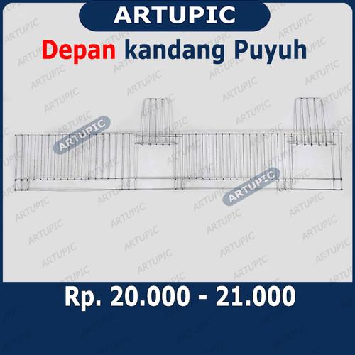 Foto Produk DEPAN Kandang Puyuh Kawat Galvanise Artupic HANYA DEPAN SAJA dari ArtupicPeralatanPeternak