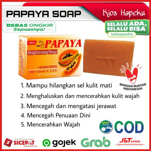 Foto Produk Sabun Papaya Whitening Soap/Sabun Batang/Sabun Pemutih Original BPOM dari kios hapeku