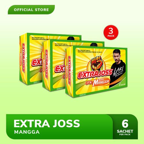 Foto Produk Extra Joss Laki Mangga 3 Pack (18 Sachet) dari Bintang Toedjoe Official