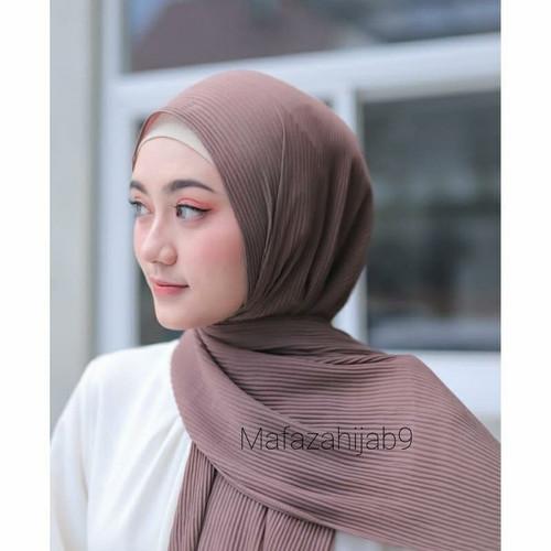Foto Produk hijab plisket pashmina - navy dari Mafazahijab9