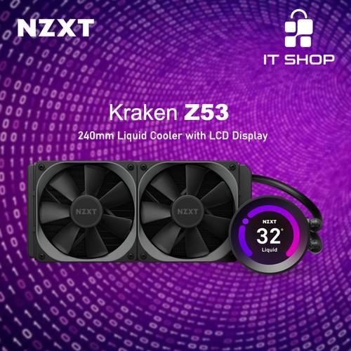 Foto Produk NZXT Liquid Cooler Kraken Z53 dari IT-SHOP-ONLINE