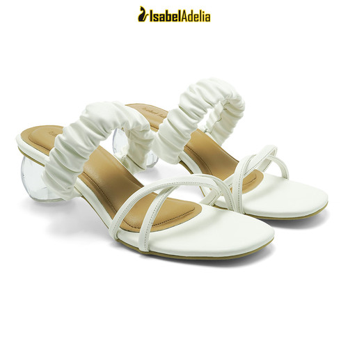 Foto Produk IsabelAdelia SHANNON Block Heels Transparan - Putih, 37 dari Isabel adelia official