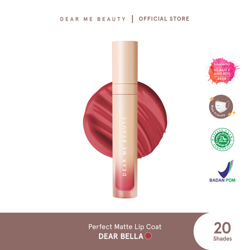 Foto Produk Dear Me Beauty Perfect Matte Lip Coat - Dear Bella dari Dear Me Beauty