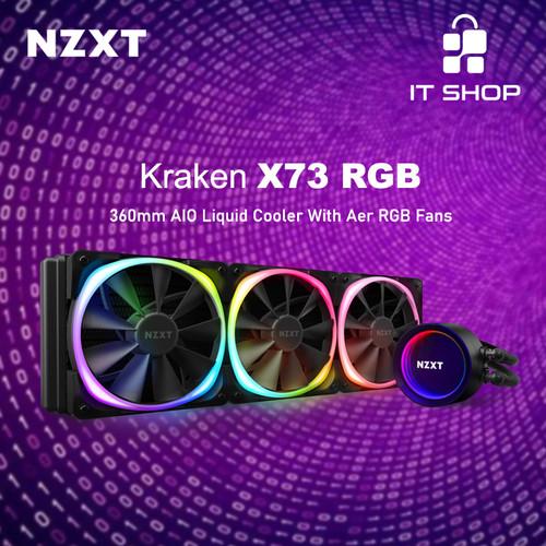 Foto Produk NZXT Liquid Cooler Kraken X73 RGB dari IT-SHOP-ONLINE