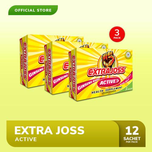 Foto Produk Extra Joss Active B7 3 Pack (36 Sachet) dari Bintang Toedjoe Official