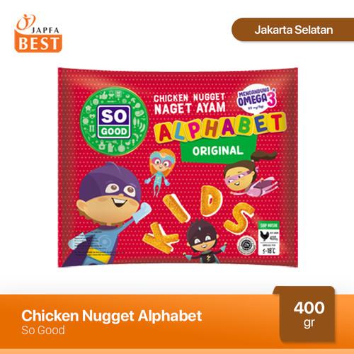 Foto Produk Nugget Ayam Alphabet So Good 400 gr dari Japfa Best Jakarta