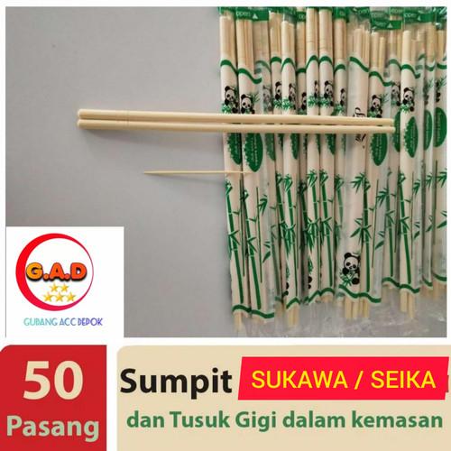 Foto Produk SUMPIT STERIL BAMBU SUMPIT + TUSUK GIGI SUMPIT BAKMI KAYU 50 SET dari ACC DEPOK