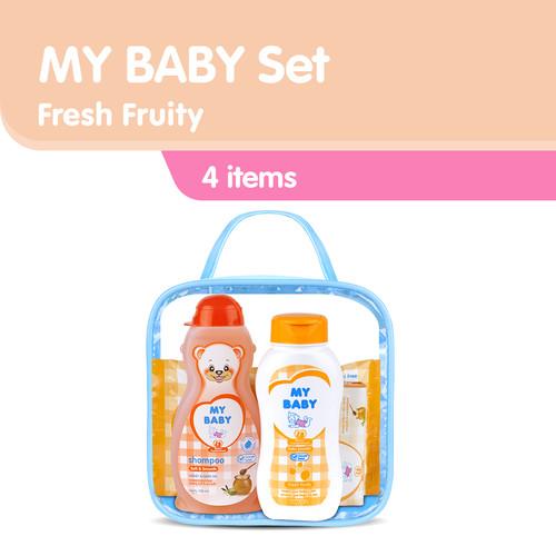 Foto Produk My Baby Set Perlengkapan Bayi - Fresh Fruity Kuning dari Tempo Store Official