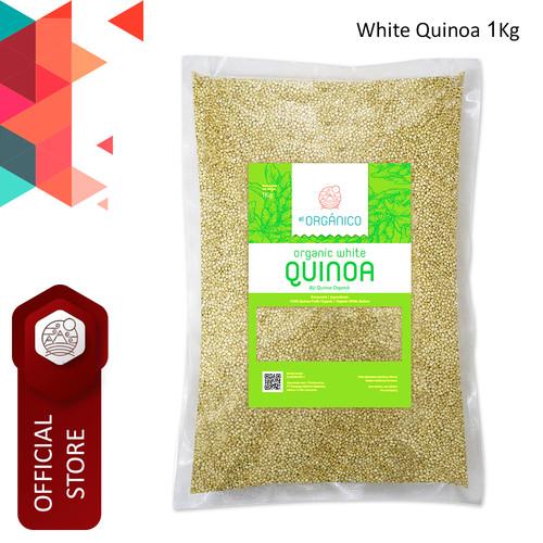 Foto Produk White Quinoa Organic EL Organico 1Kg- Single Pack dari ELorganico
