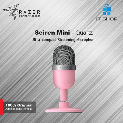 Foto Produk Razer Microphone Seiren Mini - Quartz dari IT-SHOP-ONLINE