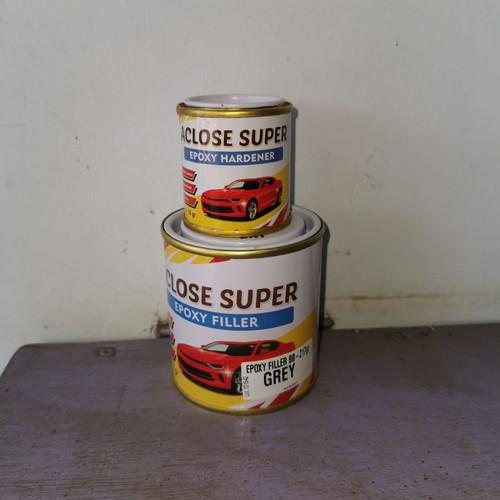 Foto Produk Cat Aclose Super Epoxy Filler Grey 200ml (utk Wilayah Jawa & Bali) dari New Sinar Terang