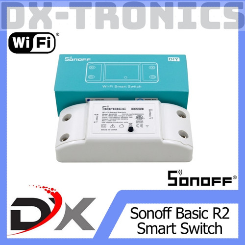 Foto Produk SONOFF WIFI SWITCH WIRELESS (FOR SMART HOME) dari DX-tronics