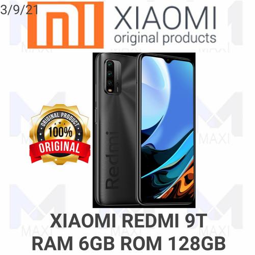 Foto Produk Xiaomi Redmi 9T 6/128 Ram 6GB Rom 128GB Garansi Resmi - Orange dari Maxi phone cell