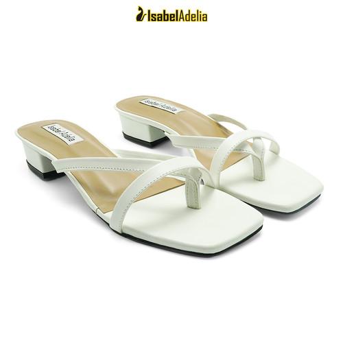 Foto Produk IsabelAdelia NANDA Block Heels Strap Wanita - Putih, 37 dari Isabel adelia official