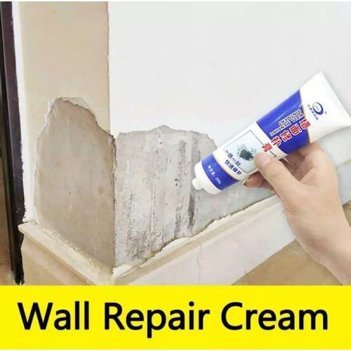 Foto Produk Perbaikan dinding Cat Tembok Repair Cream Putih L004 dari Zakka Store