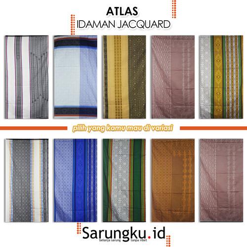 Foto Produk SARUNG ATLAS IDAMAN 590 JACQUARD CLASSIC - COVER dari SarungkuID