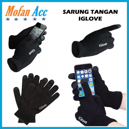 Foto Produk iGlove Touch Screen Smartphones Iphone Sarung Tangan Motor HP Android dari mofan accesories