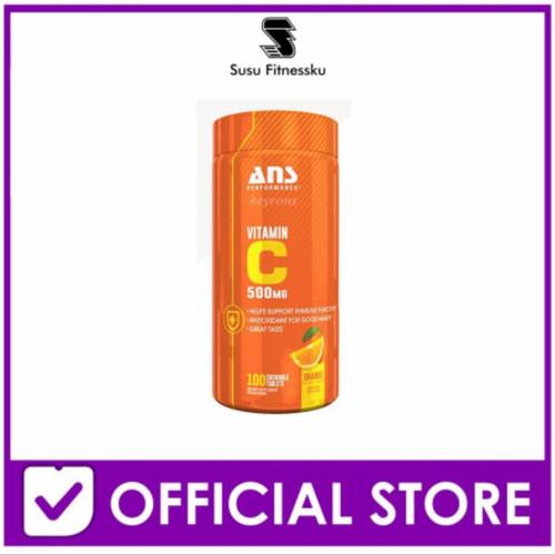 Foto Produk Ans Vitamin C 500 Mg 100 Capsul (Chewables bisa di kunyah) dari Susu fitnessku