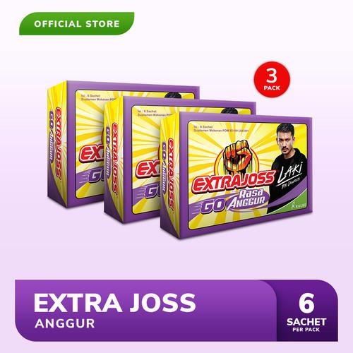 Foto Produk Extra Joss Laki Anggur 3 Pack (18 Sachet) dari Bintang Toedjoe Official