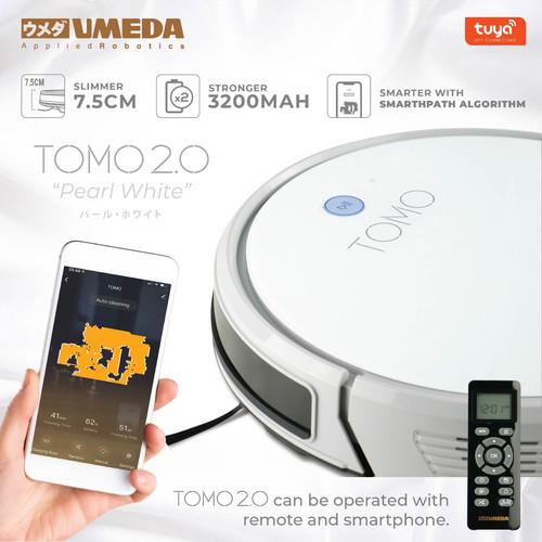 Foto Produk Umeda Tomo 2.0 Robot Vacuum Cleaner and Mop (Sapu Pel Vakum Debu) dari UMEDA