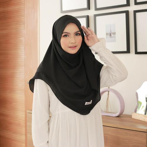 Foto Produk Hijab Ellysha JELITA STYLIST HIJAB INSTANT BLACK dari Hijab Ellysha Official