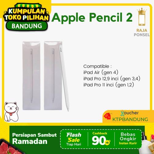 Foto Produk (Original) Apple Pencil 2 for iPad Pro 2018 11 / 12.9 Inch (2nd Gen) - PENCIL 2 dari RajaPonselcom