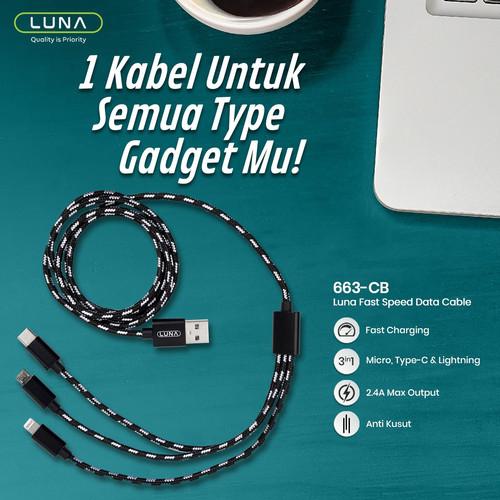 Foto Produk Luna USB Cable RCB-663CB dari Luna Life